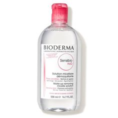 Celebrities and makeup artists agree—Bioderma Sensibo is the best French makeup remover there is. Rosie Huntington Whiteley, French Makeup, French Beauty, Italian Beauty, Classic Beauty, Bioderma Sensibio, French Skincare, Face Wash, Beauty