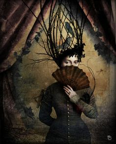 Climbing Out Christian Schloe ~ Pop Surrealist Visions