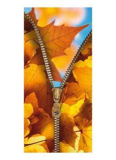 Herbstlicher Einblick Motivdruck Papier