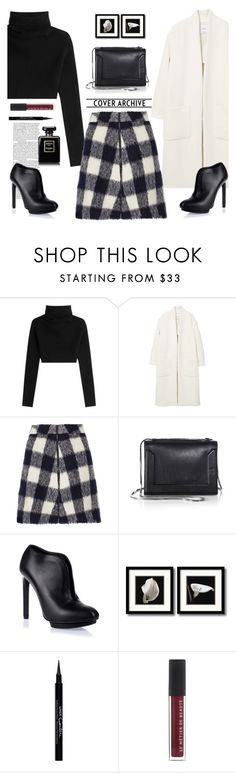 """""""Untitled #513"""" by jovana-p-com ❤ liked on Polyvore featuring Valentino, MANGO, Sea, New York, 3.1 Phillip Lim, Alexander McQueen and Givenchy"""