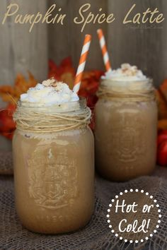 Pumpkin Spice Latte- I'm not a huge coffee fan but it sounds really good!