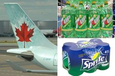 French man sued the Air Canada after he was given wrong drink by an English speaking stewardess