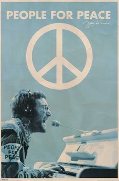 Join John Lennon of The Beatles in celebrating People for Peace with this awesome poster! Fully licensed - 2009. Ships fast. 24x36 inches. Need Poster Mounts..? su1806 py31806