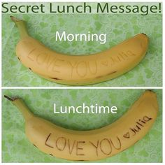 Bananenmessage .