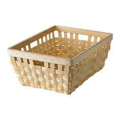 "KNARRA Basket - natural, 15x11 ½x6 ¼ "" - IKEA"