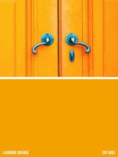Doors Laughing Orange Paint Color Sw 6895 By Sherwin Williams View Interior And Exterior Colors Palettes Get Design Inspiration For