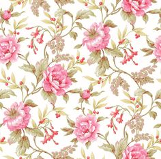 PT71271 Peony Trail Country Floral Wallpaper #Warner