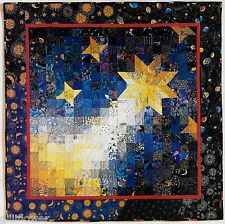 Supernovae spectacular broken star bed quilt pattern for Galaxy quilt fabric