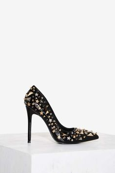 Privileged Galaxy Studded Pump - Heels | Best Sellers | Let's Run Wild | Get it Bright | Party Shoes | All Party | Vintage YSL