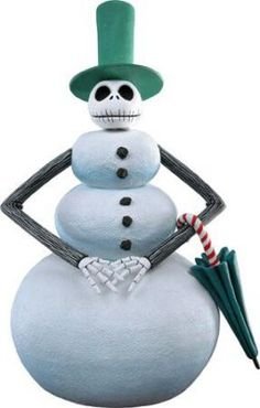 Snowman Jack Skellington Nightmare Before Christmas NECA HeadKnocker Bobble head Dark Christmas, Christmas Town, Halloween Christmas, Halloween Town, Christmas Snowman, Christmas Themes, Christmas Crafts, Xmas, Halloween Ornaments