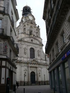 église Saint-Croix. Nantes Pays-de-la Loire