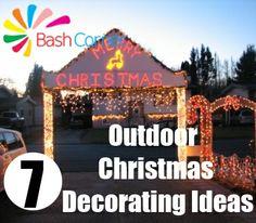 Homemade Outdoor Christmas Decorating Ideas