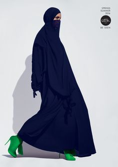 Be Seen | Abaya Bold Fashion Photography for Retail | Award-winning Photography for Advertising | D&AD