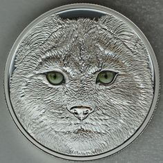 Canada 2017 $15 In The Eyes Of The Lynx, Pure Silver Glow-in-the-Dark Coin