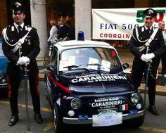 Fiat 500 Auto Carabinieri