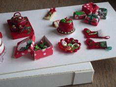 Christmas fimo cakes etc.