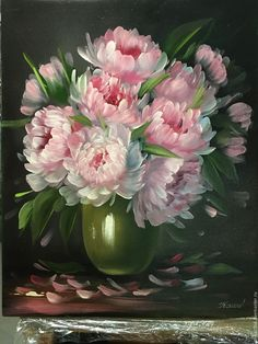 Peonies in a vase – shop online on Livemaster with shipping - AOOE1COM