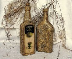 Decoupage - decoupage enthusiasts Site - DCPG.RU | reached his hands up bottles