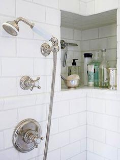 Creative Storage In The Shower!