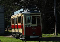 Trolley at Queen Elizabeth Park