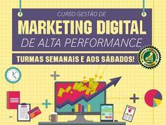 Curso de Gestão de Marketing Digital de Alta Performance
