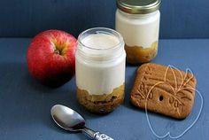 Yogur de tarta de manzana