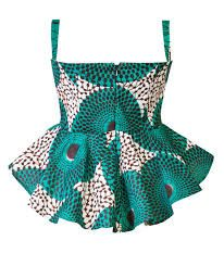 african print peplum skirts - Google Search