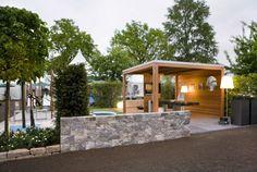 Pavillon selber bauen: Anleitung 25 elegante Gestaltungsideen