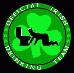 offical irish drinking team