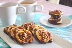 El pato de chocolate: Espirales de turrón y chocolate