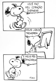 Snoopy e o amor