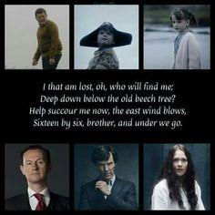Euros' song. Last Sherlock-episode