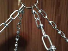 "Chain Mounting Hardware for 28"" Aluminum Ceiling Draping Hoop 