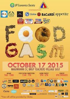 Foodgasm 2015 Goes to Maginhawa Lechon, Pinoy Food, Food Tasting, Bacardi, Easy Food To Make, The Body Shop, A Food, Eat, Recipes