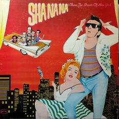 Sha Na Na – From The Streets Of New York (1973): Sha Na Na was a very successful 50s pop & doo wop cover band that was formed in 1968 and peaked in popularity in the late 1970s. They dressed in 50s costumes and slicked their hair back. This album provides 12 enjoyable tracks, including: High School Confidential*Ring Around Your Neck (Elvis cover)*Come Go With Me*Goodnight Sweetheart*The Wonderer*Sh-Boom*more. I found this album to be very entertaining on vinyl today, 3/12/2017. Rating: 81%