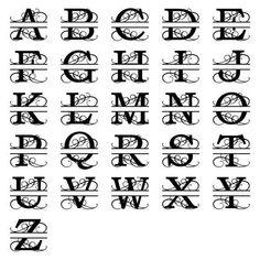 Monogram Signs, Circle Monogram, Letter Monogram, Monogram Maker, Last Name Signs, Family Name Signs, Metal Letters, Metal Signs, Wood Signs