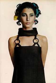 Coloring hair...not so new.  Photographed by Richard Avedon 1967 by dovima_is_devine_II, via Flickr