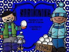 Subitizing Winter Themed Powerpoint