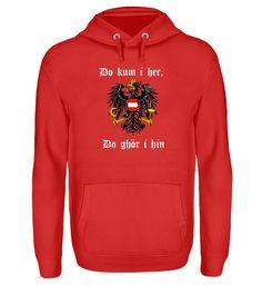 österreich hoodie T-Shirt Unisex, Hoodies, Sweatshirts, Sweaters, Fashion, Moda, La Mode, Sweater, Hoodie