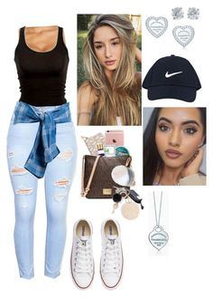 """""""Untitled #593"""" by bennysgirl on Polyvore featuring La Perla, Converse, Tiffany & Co. and NIKE"""