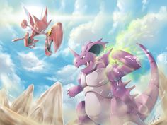 [C] Nidoking vs Scizor! by R-nowong.deviantart.com on @DeviantArt