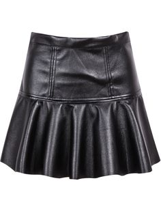 Shop Black High Waist Pleated PU Skirt online. Sheinside offers Black High Waist Pleated PU Skirt & more to fit your fashionable needs. Free Shipping Worldwide!
