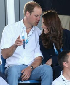 And him whispering something to her. | These Photos Of Kate Middleton And Prince William Will Melt Your Heart