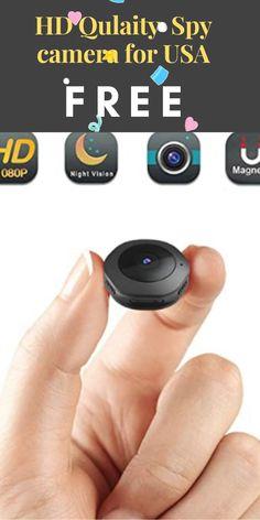 Micro Spy Camera, Wifi Spy Camera, Hidden Spy Camera, Mini Camera, Spy Ware, Illusion Paintings, Homemade Tools, Cool Gadgets, Night Vision