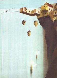 Construir una ciudad de aves (Eric Puybaret)