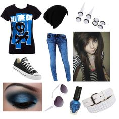 All Time Low scene outfit