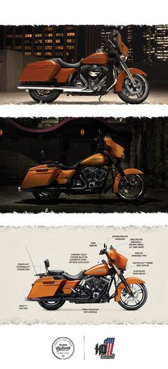 The Street Glide defines the state of the art in stripped down bagger style. | 2016 Harley-Davidson Street Glide