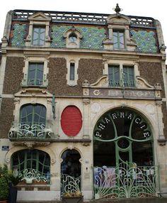 Pharmacie Lesage, Douvres-la-Délivrande, Normandy, France