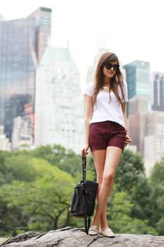 """Style Scrapbook: LOOK OF THE DAY """"CENTRAL PARK"""""""