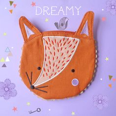 Butted Mail: A Mailmaker's Guide Fox Purse, Couture, Fantastic Fox, Fox Crafts, Fox Decor, Pet Fox, Paperchase, Kids Bags, Cosmetic Case